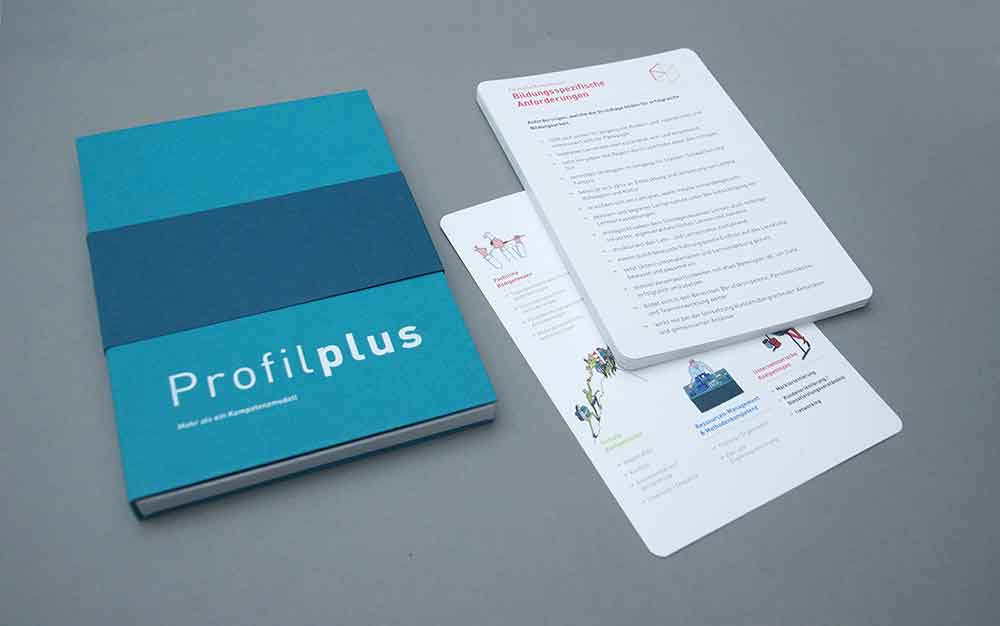Profilplus Kompetenzkarten Box Physisch